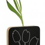Vaso con lavagna moderno di design