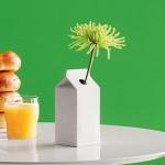 Vasi di design cartone del latte