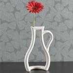 Vaso moderno design bidimensionale