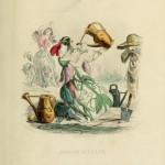 i fiori di Illustrati di JJ Grandville