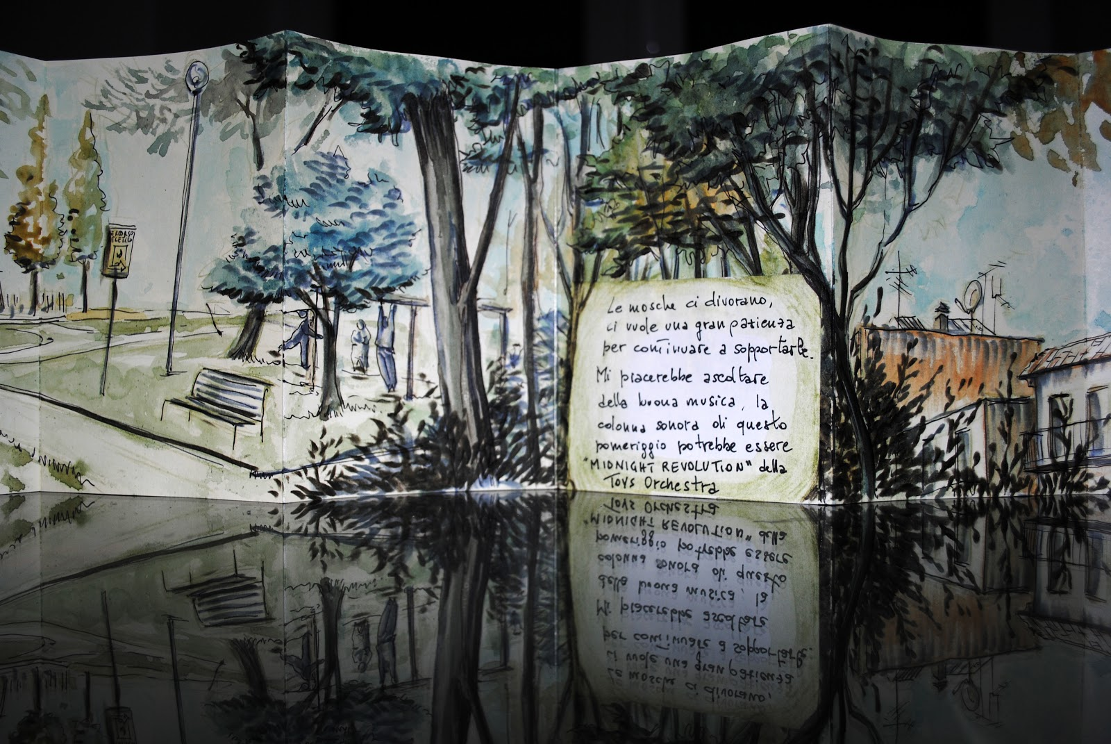 Clelia Della Gioia - Domenica Pomeriggio in Piazza Berlinguer - Moleskine Japan album