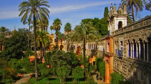 Meravigliosi giardini il real alc zar di siviglia fito for Giardini meravigliosi