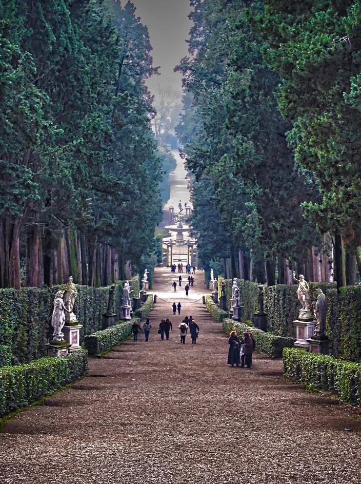 Meravigliosi giardini giardino di boboli fito for Giardini meravigliosi