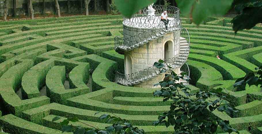 I 24 giardini labirinto pi belli del mondo fito for Giardino labirinto