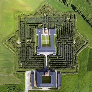 labirinto della Masone di Franco Maria Ricci, il labirinto più grande del mondo
