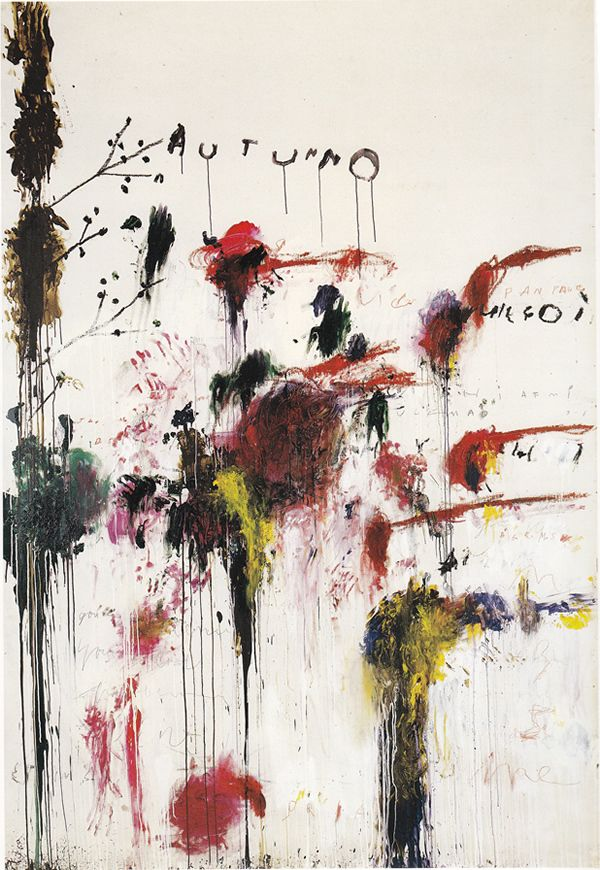 Cy Twombly - Quattro Stagioni - Autunno 1993-5