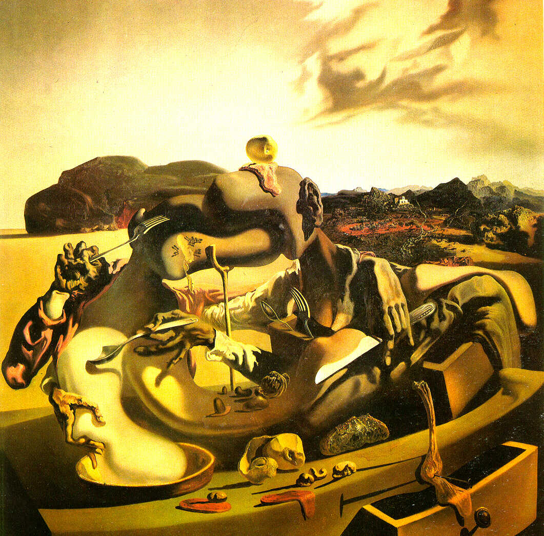 Salvador Dali - Autumn Cannibalism - 1937