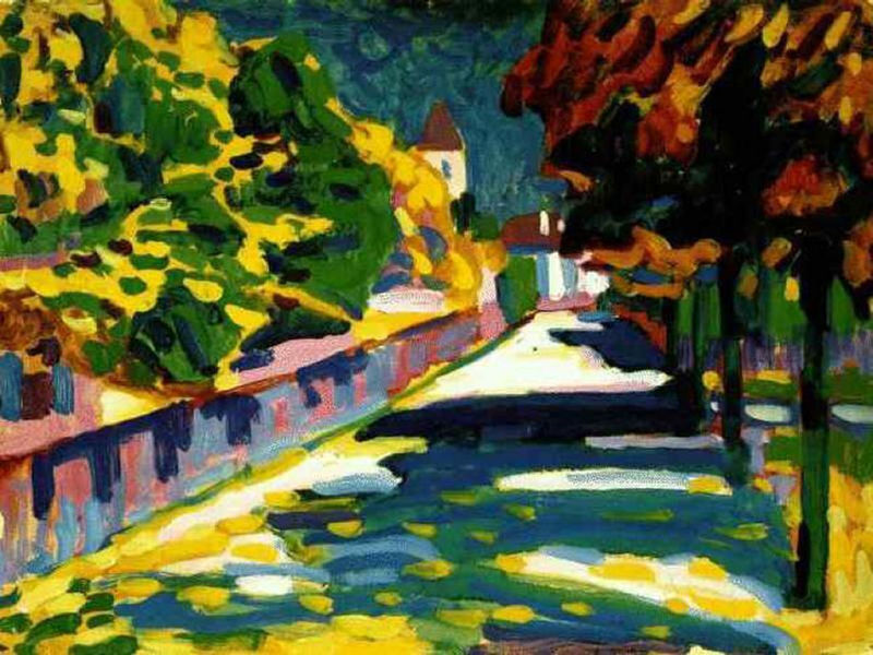 kandinsky - autumn in bavaria