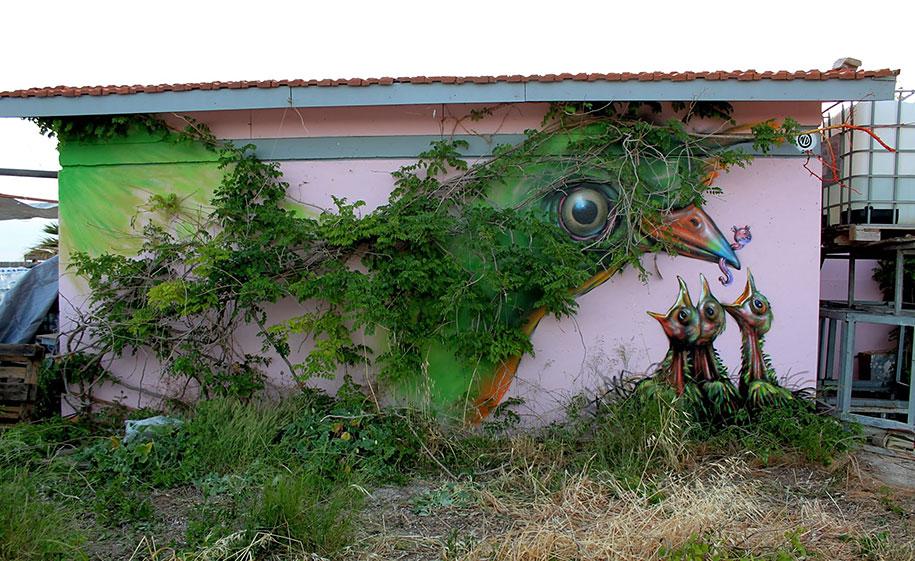 Uccelli, Atene, Grecia