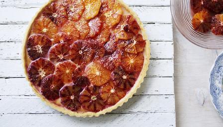 ricetta torta di arance rosse