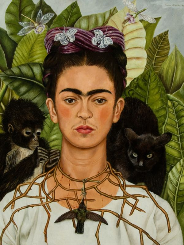 Portait Frida Kahlo