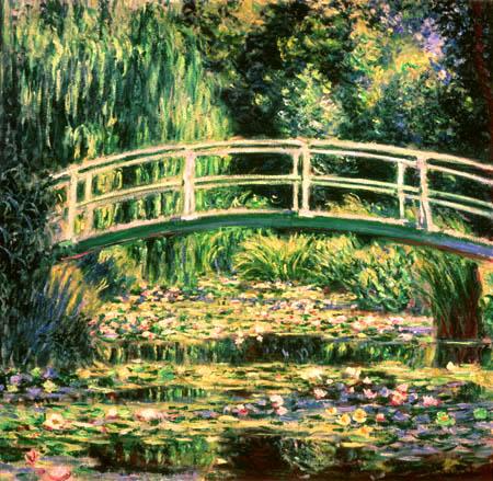 claude_monet,ponte_giapponese,1910. L\u0027obiettivo del giardino di Monet