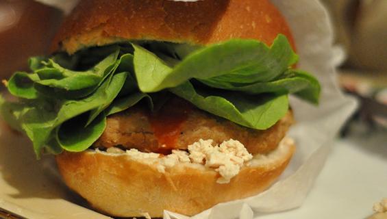 Veggy burger ricetta