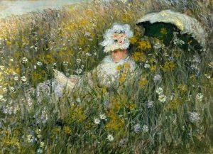 Nel campo di fiori, Monet