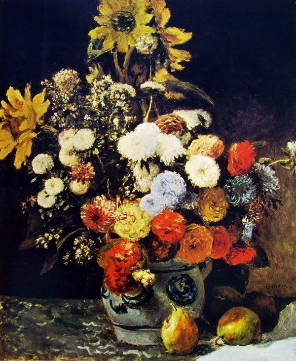 7 bellissimi quadri impressionisti con i fiori fito for Quadri fiori famosi