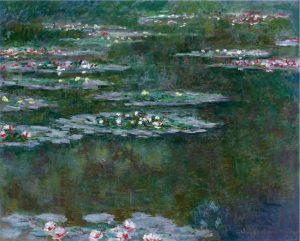 Ninfee. Degas