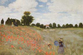 I papaveri (1873) Museo d'Orsay, Claude Monet