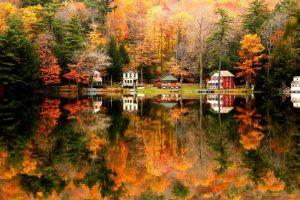 belle foto di paesaggi autunnali