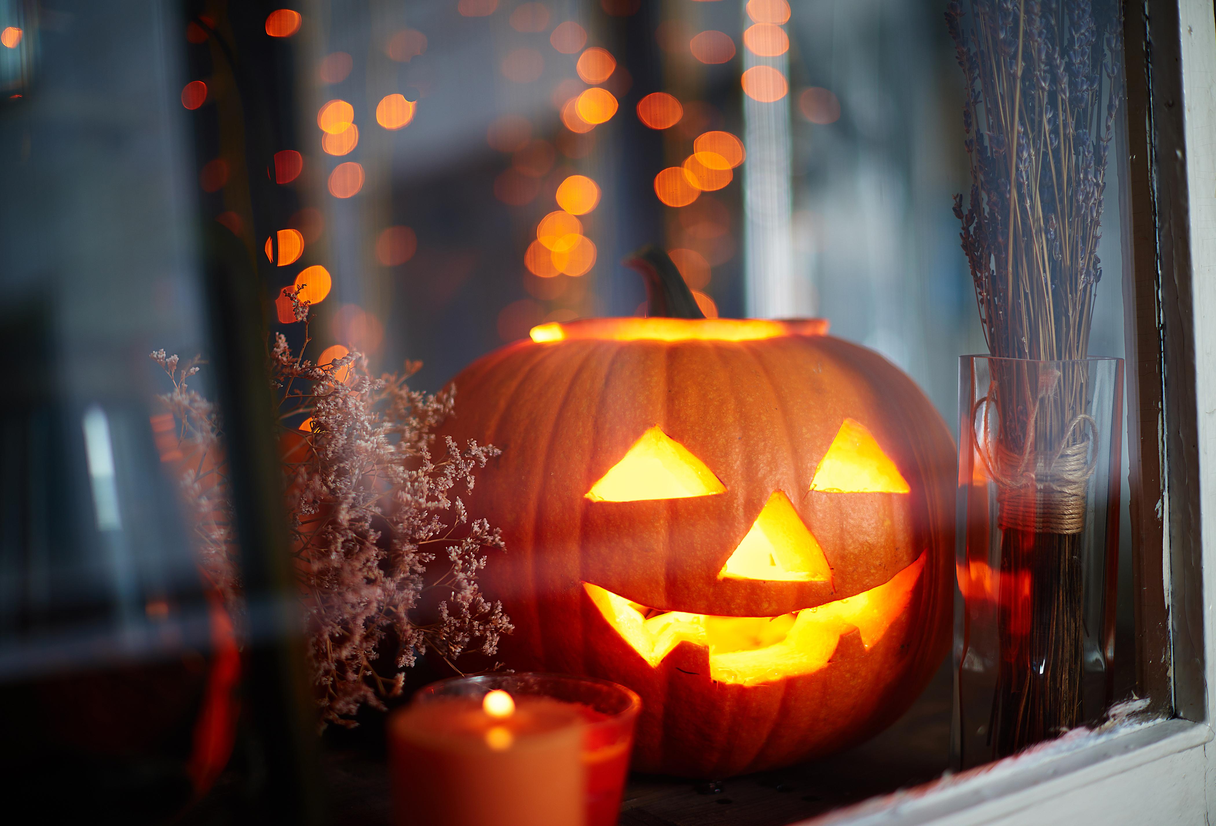 Disegno zucca halloween