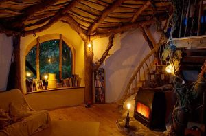 Casa hobbit interno