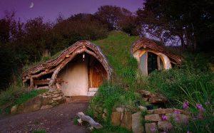 Casa hobbit esterno