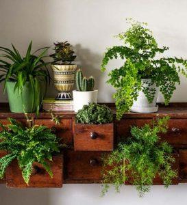 Riciclo vecchi mobili vaso