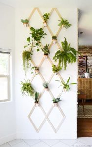 Attaccapanni vaso da parete
