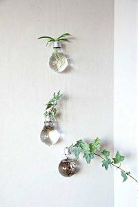 Lampadine vaso a parete