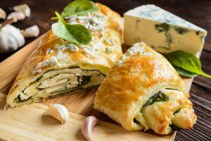 Ricetta strudel gorgonzola e spinaci