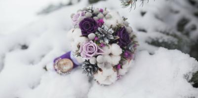 bouquet sposa invernale