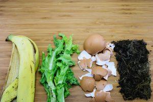 Scarti di cucina, banane e uova per fertilizzare il terreno