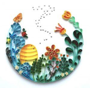 I fiori di carta e i tratti di penna
