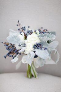 Bouquet invernale per matrimonio invernale