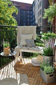 Arredare balcone primavera idee 17