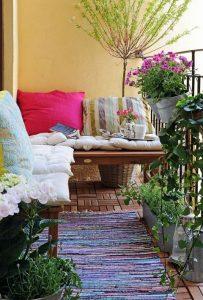 Arredare balcone primavera idee 20