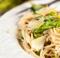 Ricetta del mese di marzo, pasta con asparagi e piselli