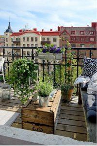Arredare balcone primavera idee 12