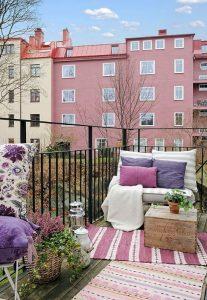 Arredare balcone primavera idee 13