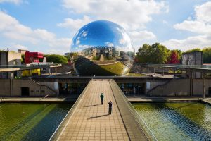 La Geode in the Parc de la Villette in Paris