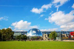 La Geode Parc de la Villette Parigi