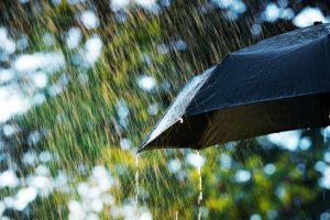 Close up di un ombrello