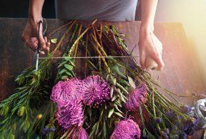 Aceto in giardnio, far allungare la vita dei fiori recisi