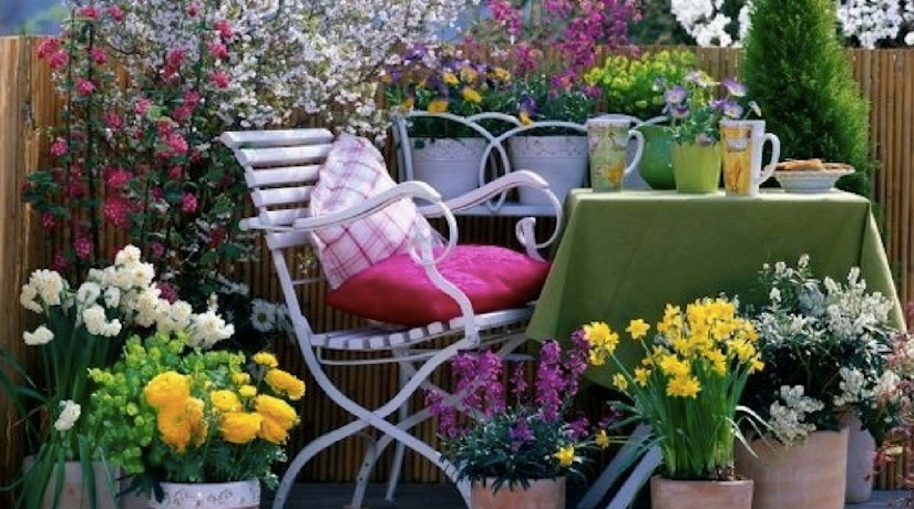 22 fantastiche idee per il balcone in primavera fito for Idee per terrazzi fioriti