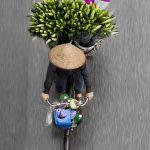 Loes Heerink, bici fiori vietnam 7
