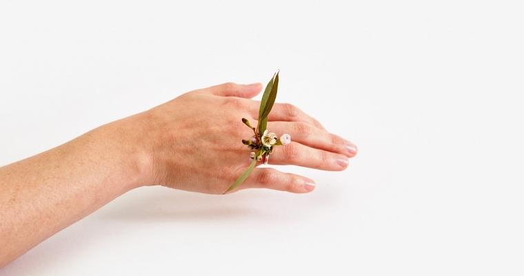 design anelli fiori