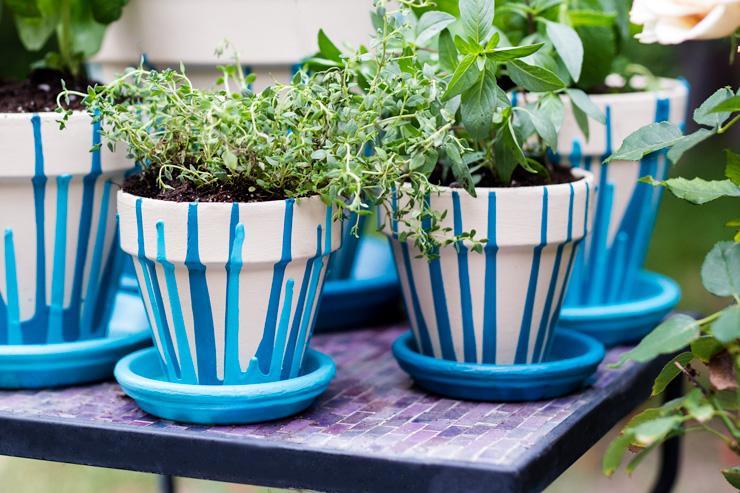 13 idee per decorare i vasi in terracotta e non solo fito On idee per decorare vasi di terracotta