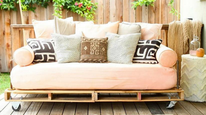 31 idee per arredare il giardino con i pallet fito for Arredare il giardino