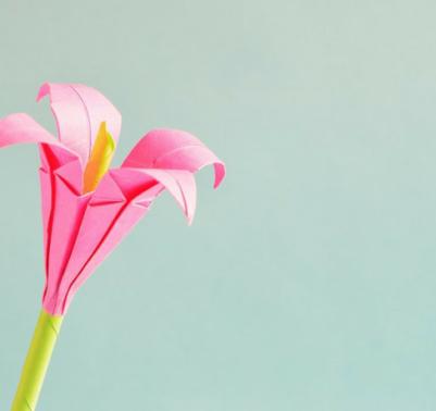 Tutorial origami fiori