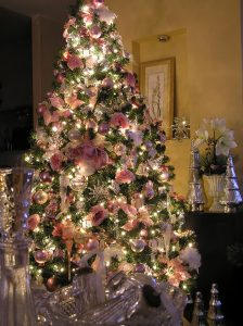 decorazioni alberi natale fiori 10decorazioni alberi natale fiori 10