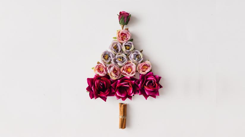 10 idee per decorare l albero di natale con i fiori fito - Decorare albero di natale idee ...
